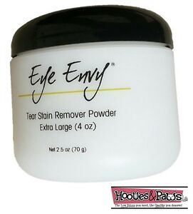 Dog-Cat-Pet-Tear-Stain-Remover-Powder-Eye-Envy-NR-Tearstain-Removal-System-4-oz