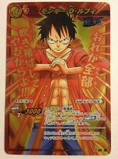 Miracle Battle Carddass Monkey D. Luffy P OP 47 Promo WB