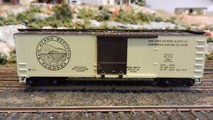 Train-Miniature-HO-NMRA-San-Diego-NMRA-Region-1982-Wood-Boxcar-Upgraded-exc