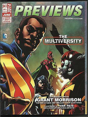 Previews Issue #309 June 2014 Comics Shop Catalog Magazine Book Avengers X-Men