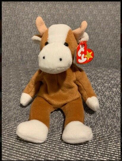 Beanie Babies Bessie the Cow 4th Generation
