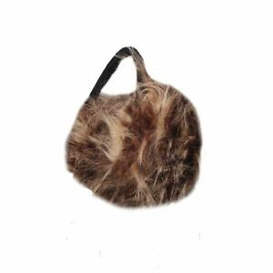 Oversized-Faux-Fur-Winter-Thermal-Fashion-Earmuffs-in-Brown-and-Beige
