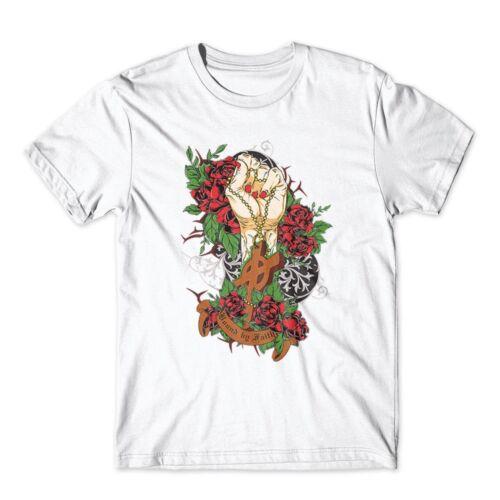 100/% Cotton Premium Tee New Bound by Faith T-Shirt