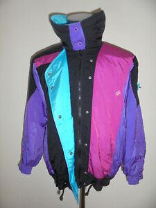 vintage-80-s-Klepper-Nylon-Blouson-oldschool-Jacke-ski-anorak-80er-Gr-40-M