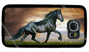 sports shoes 5db40 5fc70 Details about ARABIAN BLACK HORSE PHONE CASE COVER FOR SAMSUNG NOTE &  GALAXY S4 S5 S6 S7 S8 S9