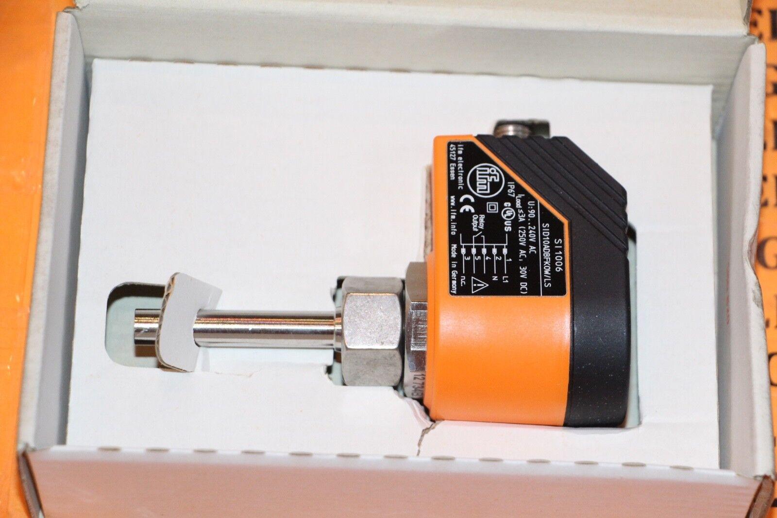 Ifm efector monitor 300 SI1006 monitor efector de flujo Sid 10 adbfkow/LS-100-IRF Nuevo 53878e