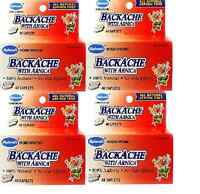 Hyland Homeopathic Backache With Arnica 160 Caplets Total, Natural For Back Pain