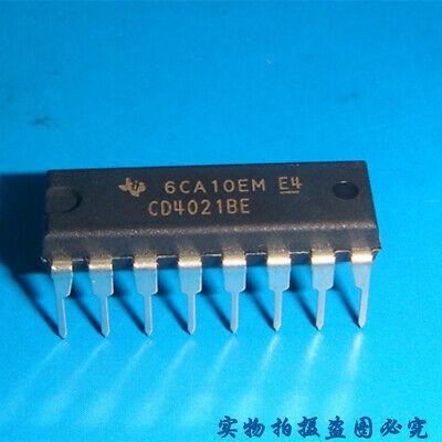 New 5PCS CD4021 CD4021BE CMOS STATIC SHIFT REG DIP16 DIP-16 TI IC