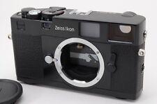 2905#GC Zeiss Ikon M-Mount ZM Black 35mm Rangefinder Film Camera Mint