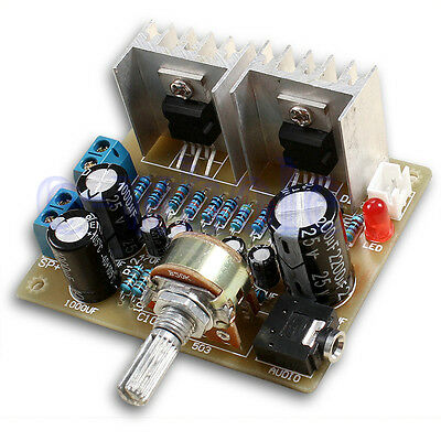 DIY Kit 2.0 Dual-Channel TDA2030A Power Amplifier Module TW
