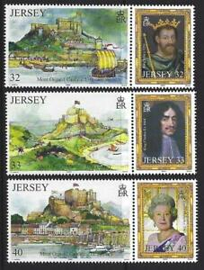 Jersey-2004-Un-Peculiar-De-La-Couronne-Ensemble-6-non-Montes-Excellent-Etat-MNH