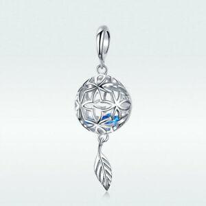 Luxury-Flower-925-Sterling-Silver-Charm-Beads-Fit-Women-Bracelet-Necklace-Chain