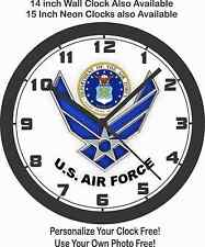 DEPARTMENT OF U.S. AIR FORCE LOGO WALL CLOCK-ARMY, MARINES
