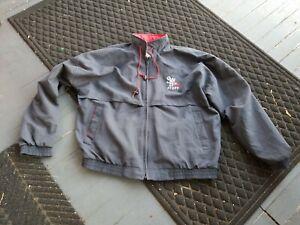 Vintage-SCRANTON-Wilkes-Barre-RED-BARONS-MINOR-LEAGUE-STAFF-Baseball-Jacket-XL