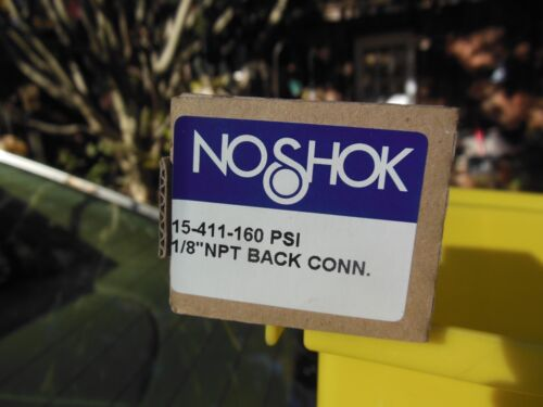 "Noshok 15-411-160PSI 1//8/"" NPT SS gauge"