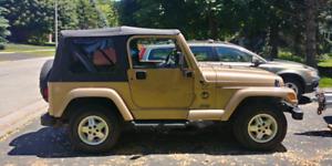 1999 Jeep TJ Sahara