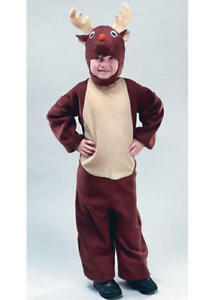 Bambini Renna Natale Rudolph Costume Animale