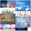 thumbnail 1 - Doodlecards Pack of 10 Standard Size Contempory Mixed Birthday Cards