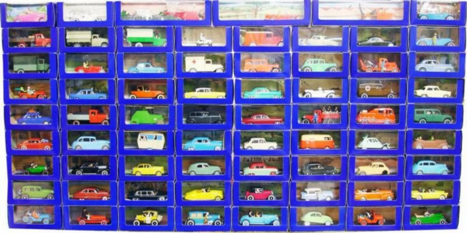 Quatre mers, Xiangyun, Fulai, cadeau cadeau cadeau du Nouvel An, non-stop TINTIN Atlas collection complète 70 voitures ETAT NEUF CERTIFICATS AUTHENTICITE a7ed7f