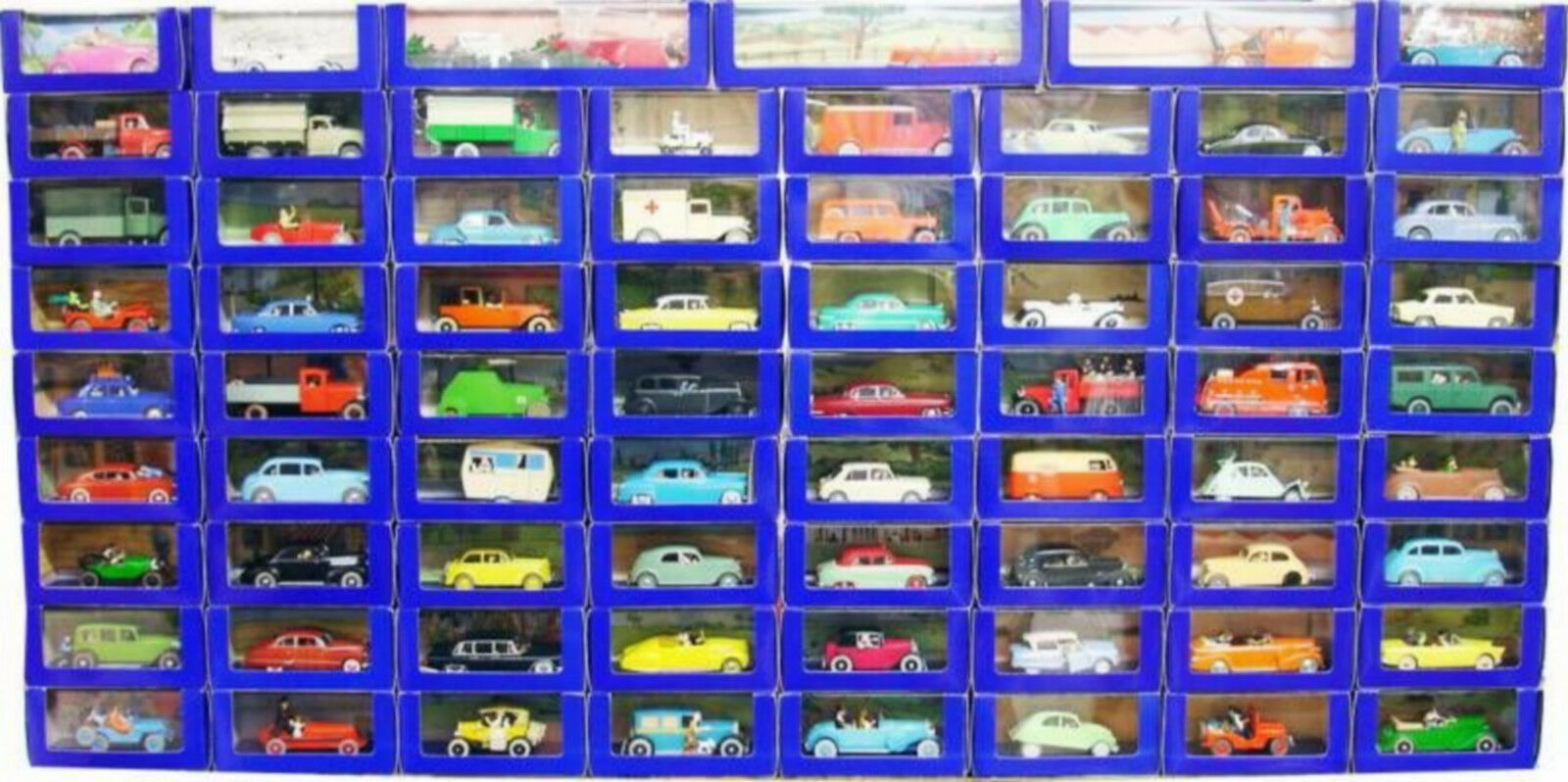 Quatre mers, Xiangyun, Xiangyun, Xiangyun, Fulai, cadeau du Nouvel An, non-stop TINTIN Atlas collection complète 70 voitures ETAT NEUF CERTIFICATS AUTHENTICITE eba164