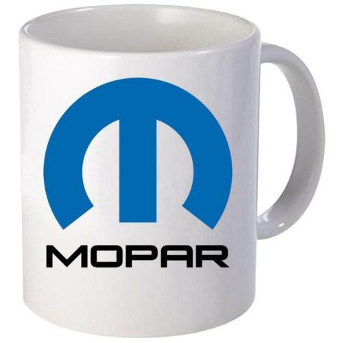 Dodge Plymouth MOPAR Logo Coffee Mug 11oz 15 oz Ceramic NEW