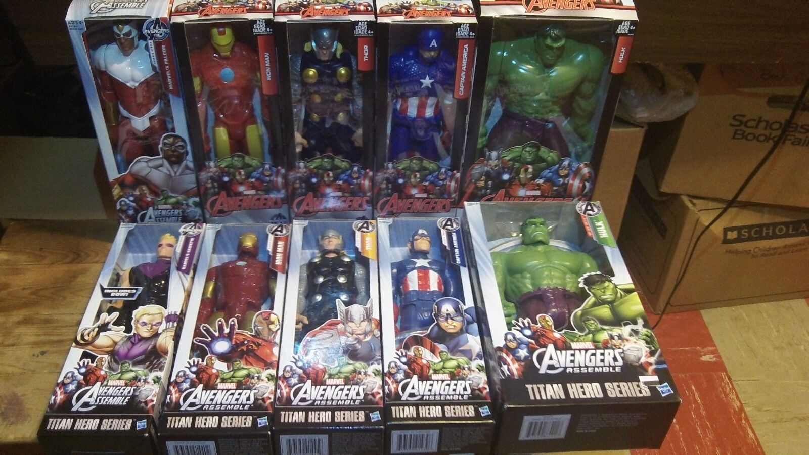 Marvel Titan Hero Series 12 inch Iron Man Captain America Hulk Thor NEW