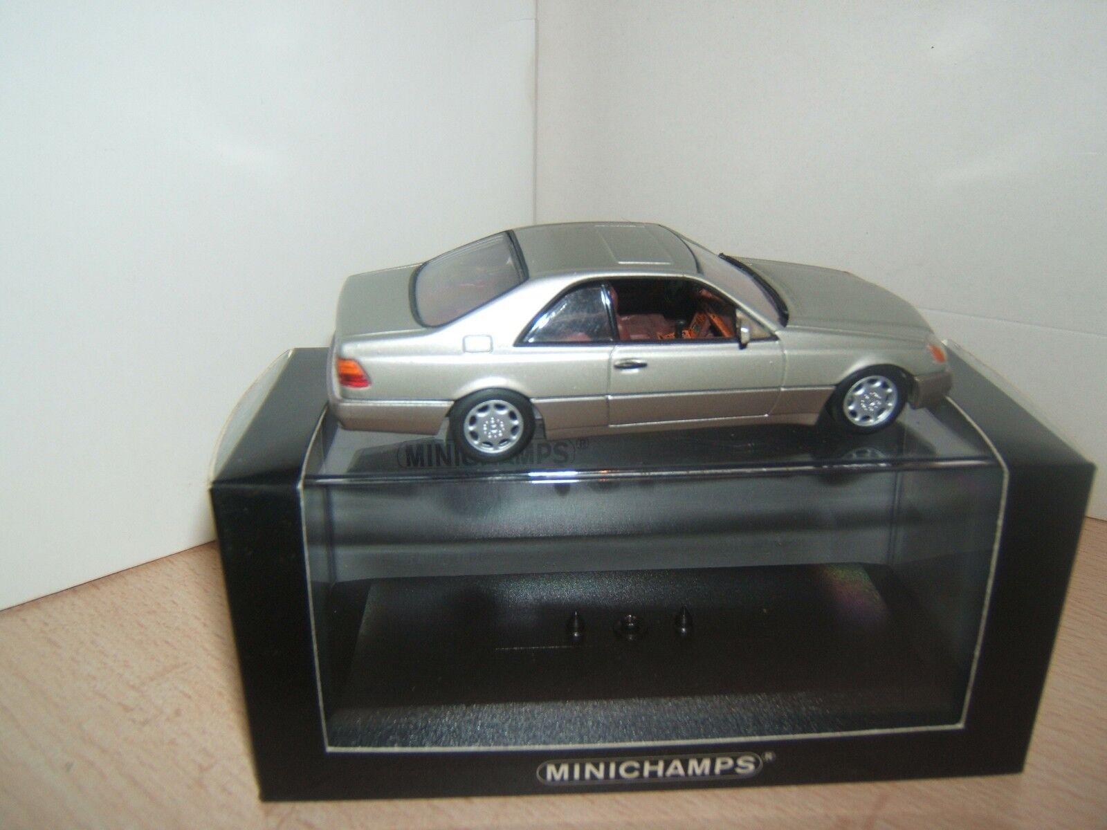 MERCEDES BENZ  600 SEC  V12    MINICHAMPS 1 43EME