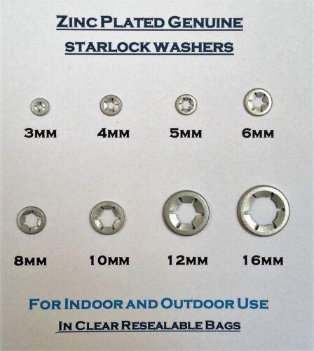 M3 M4 M5 M6 M8 M10 M12 M14 M16 Starlock Washers