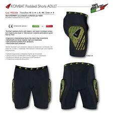 "Pantaloncino Ufo Moto ""Kombat"" per Adulti con protezioni Giallo TG XL"