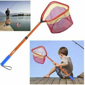 15kg 33lb Fishing Net Fish Landing Hand Telescopic Pole Handle Fishing Tackle