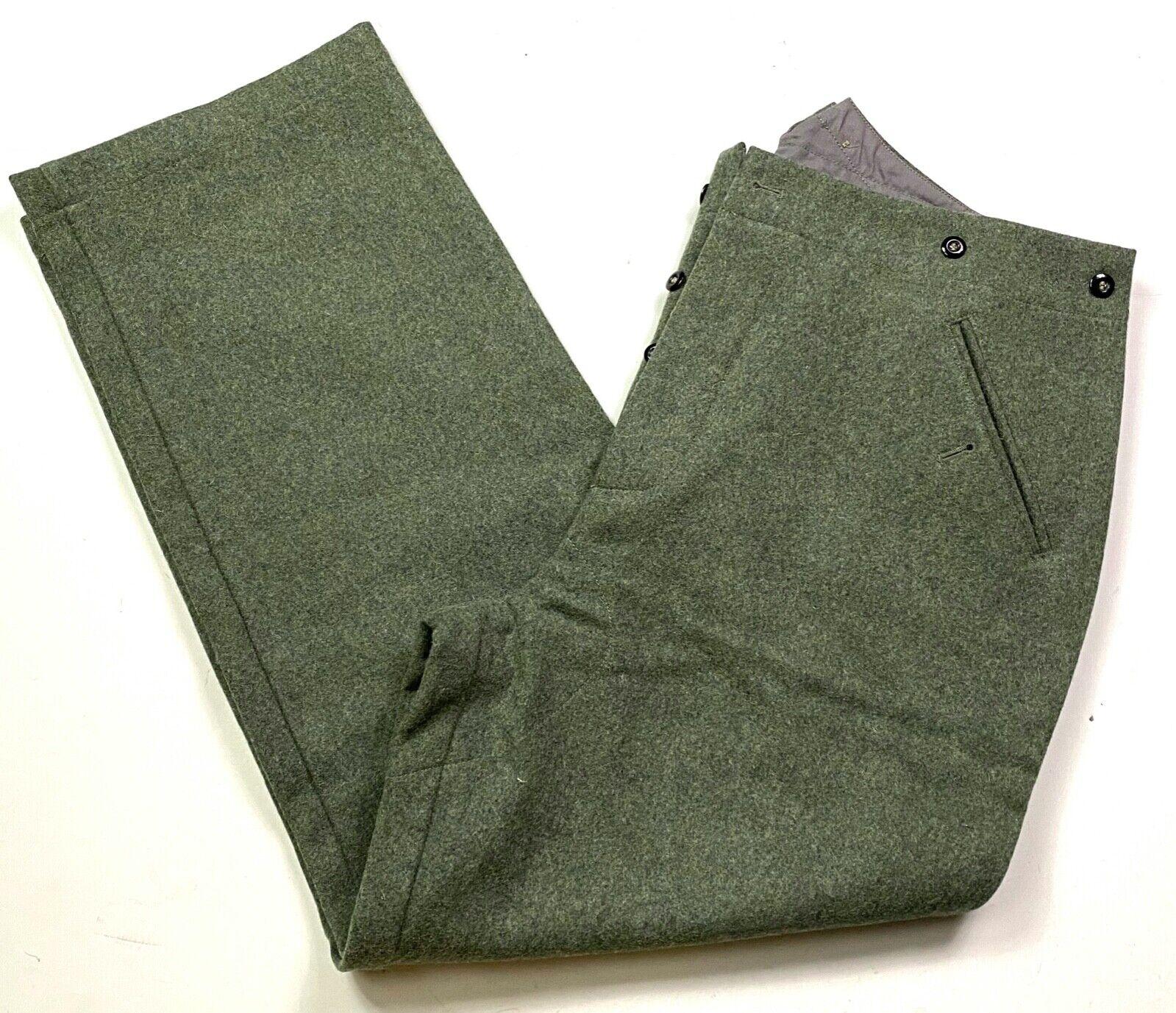 WW2 German M40 elite EM Italian Field Wool tunic Feldbluse blue green grey 3XL