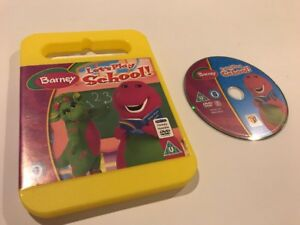 Barney-Let-039-s-Play-School-DVD-Baby-Bops-School-Learning-Pre-school-Toddler
