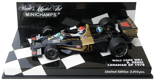 Minichamps Wolf WR1 Canadian GP 1978 - Bobby Rahal 1 43 Scale