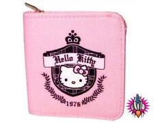 Hello KITTY Prep 1976 Rosa Coin Clip Borsetta Portafoglio NUOVO CON ETICHETTE