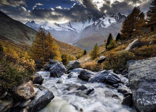 1000 pieces HY29712 Heye puzzle-mountain stream