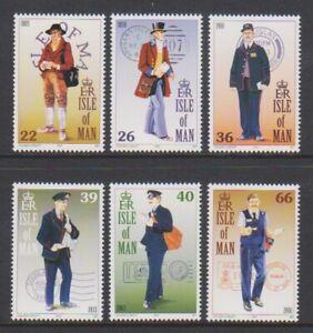 Isle-of-Man-2001-Postal-Uniforms-set-MNH-SG-929-34