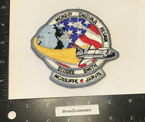 Vtg-CHALLENGER-Space-Shuttle-MISSION-Patch-Disaster-1986-RARE