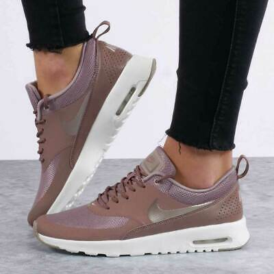Femme Nike Air Max Thea Taille 4 EUR 37.5 (599409 206) Smokey mauvePonce | eBay
