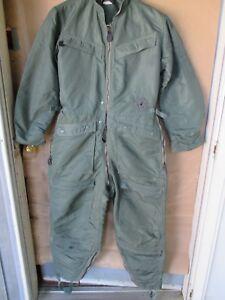 VTG USAF USN USMC ARMY Green Summer Flyer/'s Coveralls Flight Suit CWU-27//P 44L