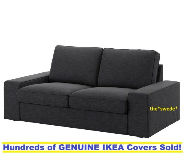 IKEA KIVIK Loveseat (2 Seat Sofa) Cover Slipcover HILLARED ANTHRACITE