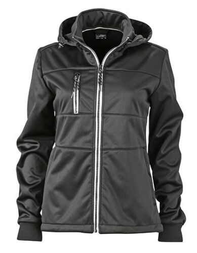 James+Nicholson Damen Softshelljacke Kapuze S M L XL XXL Maritime Softshel Jacke
