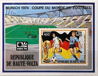 Ehrlich Upper Volta Obervolta 1974 Block 22 S/s C182 Beckenbauer Soccer Fußball Wm Mnh Verhindern Dass Haare Vergrau Werden Und Helfen Den Teint Zu Erhalten