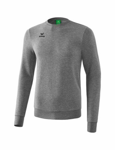 Erima Training Sweatshirt Trainingsshirt Herren Kinder grau