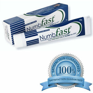 NUMB FAST® Lidocaine Numbing Cream Painless Tattooing Piercing ...