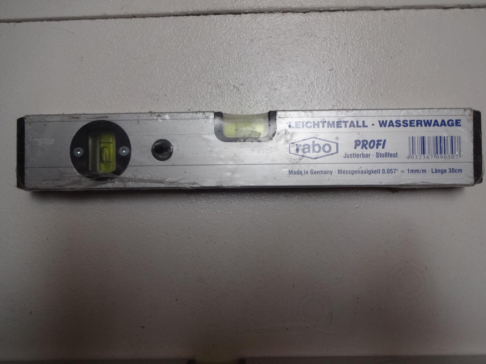 Wasserwaage ALU mit Magnet Richtwaage Maurerwaage Profil-Wasserwaage NEU