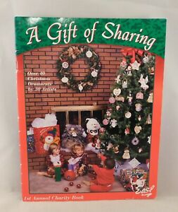 A-Gift-of-Sharing-1998-Over-40-Christmas-Ornaments-Holidays-Tole-Painting