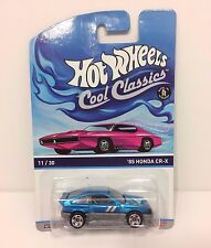 Hot Wheels Cool Classics '85 Honda CR-X CRX 11/30 2013 2014 Spectrafrost htf