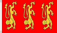 150x90cm NEW 5 x 3 FOOT ENGLISH ANGLO SAXON PENDRAGON FLAG WHITE DRAGON ON RED