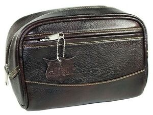 2b432bda83 Deluxe Buffalo Leather Toiletry Bag- Dopp Kit from Parker Safety ...