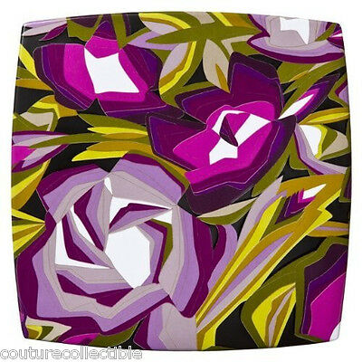 NEW! Missoni Home Target Purple Passione Floral Unique Modern DINNER Plate
